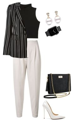 """""""Pants"""" by stylebooster on Polyvore featuring MaxMara, Givenchy, Jimmy Choo and Victoria's Secret"""