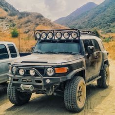 FJ Cruiser edited with VSCO Cam app