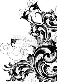 Page Corner Engraving Designs lightbox - iStock