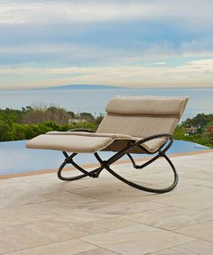 Delano Double Orbital Lounger & Cushion
