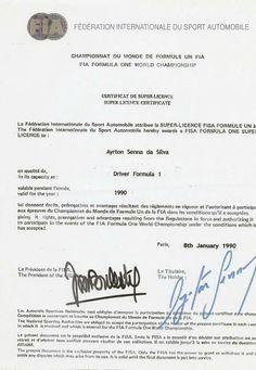 Ayrton Senna Súper Licence