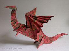 27 spectacular westernstyle origami dragons origami