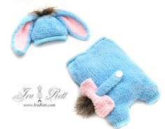 baby donkey hat cocoon set for newborn babies