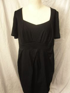 7b2ee900187 Forever 21+ Plus Sizes Dress Black Size Women s 2X Deep Scoop  Forever21   Sexy