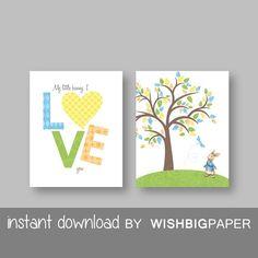 PETER RABBIT wall art-Instant Download-Set of two (2).Boy Nursery Art Print.Boys Peter Rabbit.Peter Rabbit Nursery Art.Easter Gift. Sets