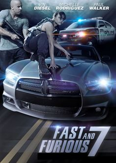 With Vin Diesel, Paul Walker, Dwayne Johnson, Jason Statham. Deckard Shaw seeks revenge against Dominic Toretto and his family for his comatose brother. All Movies, Great Movies, Movies Online, Movies And Tv Shows, Movie Tv, Series Movies, Michelle Rodriguez, Vin Diesel, Movie Fast And Furious