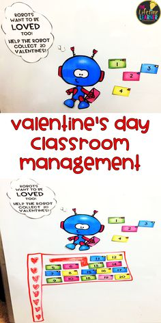 This Classroom Reward and Behavior Management System is perfect for the month of February. It celebrates Valentine's Day while helping your students earn a whole class reward. #classroommanagement  #behavior #valentinesday