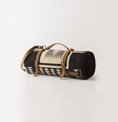 /\ /\ . Pendleton Throw we could get these strap things made and embossed