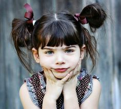 If i were to ever have a little girl (which i wont!) i would soo do her hair like this!