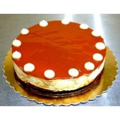 Russian cream cakeDiameter15 cm 16 slices Online Cake Delivery