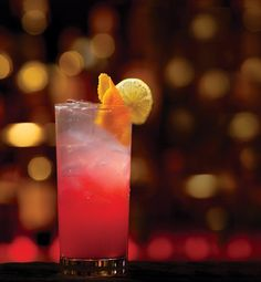 CA M+E- The Dancing Lotus #drinks #cocktails #SignatureDrink