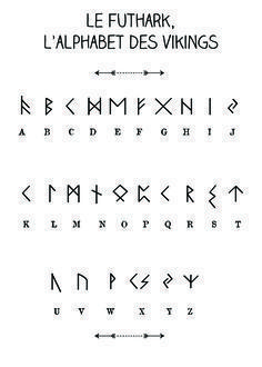 Royalty Free Vikings Rune Tattoo Designs Futhark Canyons Run Run Magic . - Royalty Free Vikings Rune Tattoo Designs Futhark Canyons Run Run Magic … – The Best Tattoos – - Viking Rune Tattoo, Viking Tattoos, Viking Tattoo Design, Alphabet Code, Alphabet Symbols, Sign Language Alphabet, Nordic Alphabet, Aramaic Alphabet, Greek Alphabet