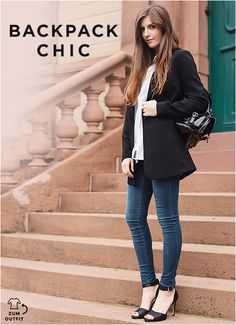 #backpackchic #simpleetchic #bloggerstyle #outfit #aboutyou