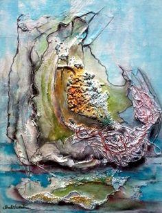 "Mixed Medium... Artist: Pamela Vosseller, Title: ""The Beauty Within the Broken"""