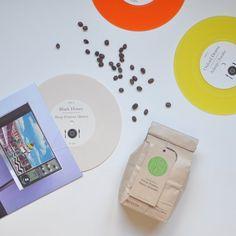 CURATED COFFEE & VINYL PAIRING / #turntablekitchen #coffee #vinyl #gifts