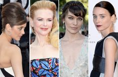 A closer look at Cannes's red carpet hair chameleons