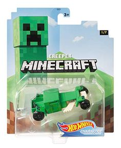 Minecraft Hot wheels Vehicle Creeper - character cars - New Minecraft Hot Wheels, Minecraft Toys, African Jungle Animals, Grumpy Cat Quotes, Paw Patrol Toys, Elemental Powers, Little Girl Toys, Game Room Design, Hot Wheels Cars