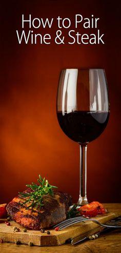 How to Pair Wine & Steak - Wine - Ideas of Wine Malta, Cooking Tips, Cooking Recipes, Wine Cheese, In Vino Veritas, Wine And Beer, Wine Drinks, Beverages, Fine Wine