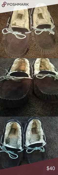 Ugg furry brown size 9 shoes mint condition Ugg furry brown size 9 shoes mint condition ugg Shoes Flats & Loafers