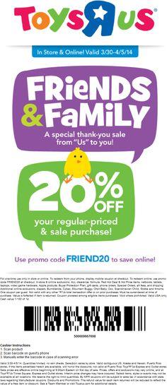 20 Off Printable Coupon For Toys R Us : printable, coupon, Deals, Steals, Ideas, Coupons,, Coupon, Apps,, Printable, Coupons