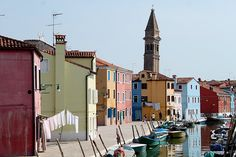 Bright Burano, Venice - yes . . . . so wish I was there . . .