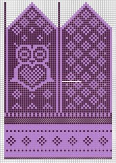 Knitting Patterns Mittens Little sister would want in pink and purple. Most of the time she wants to have pink and purple. Knitted Mittens Pattern, Crochet Gloves, Knit Mittens, Knitting Socks, Knitting Charts, Knitting Stitches, Knitting Patterns, How To Start Knitting, Knitting Projects