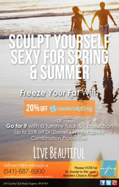 Take A Look At Our Coolsculpting Liposuction And Tummytuck Specials For The Month Of March Enjoy Cool Sculpting Liposuction Tummy Tucks