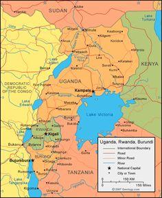 11 Best Uganda Maps Images Maps Uganda Blue Prints