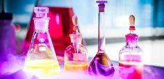 Barwnie w Laboratorium chemicznym / Mix of colours in the Chemical lab