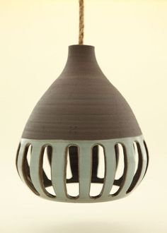 Heather Levine Ceramics Lamps by carrie