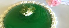 Sweet Woodruff Jelly can be served many ways. Oma's recipe show you how to make it and ideas how to serve it. A quick and easy dessert recipe. Traditional German Desserts, Sweet Woodruff, Jelly Recipes, Jello, Sweet Treats, Food Ideas, Cake, Fantasy, How To Make