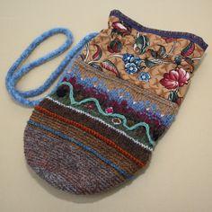 Madeleine. A folk bag by Peony And Parakeet.