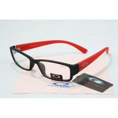 Imitation Oakley Plain Glass Sunglasses matte black-red frames clear lens   See more about oakley sunglasses, oakley and sunglasses.