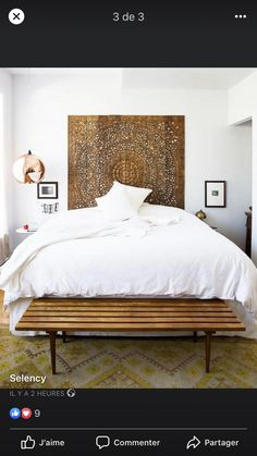 Browse stylish white bedroom decor inspiration, furniture and accessories on Domino. Explore our favorite white bedrooms for the best beds, headboards, nightstands, throw pillows and paint colors to decorate your bedroom. Home Decor Bedroom, Wood Bedroom, Bedroom Ideas, Bedroom Interiors, Budget Bedroom, White Interiors, Modern Interiors, Large Bedroom, House Interiors