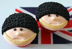Queens birthday cupcakes 022 by Victorious Cupcakes, via Flickr