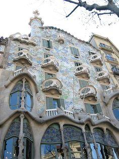 Casa Batlló. Gaudi. barcelona