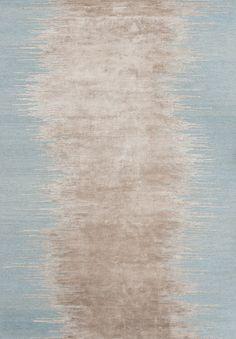 Noam rug in aqua from WovenGround.net