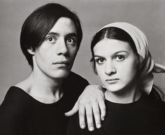 djinn-gallery:    Claude Picasso and Paloma Picasso by Richard Avedon 1966