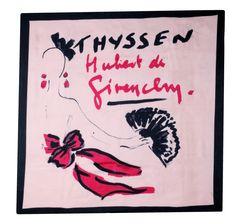 Pañuelo de seda natural diseñado en exclusiva para el Museo Thyssen-Bornemisza por Hubert de Givenchy Museum Shop, Arabic Calligraphy, Natural, Art, Silk Scarves, Museums, Art Background, Kunst, Arabic Calligraphy Art
