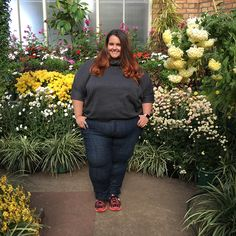 New Zealand plus size fashion blogger Meagan Kerr wears Isolde Roth Turtleneck from Navabi and Kate Madison Jeans from The Warehouse