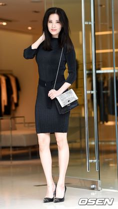 SNSD SeoHyun goes all black for Calvin Klein's Event ~ Wonderful Generation