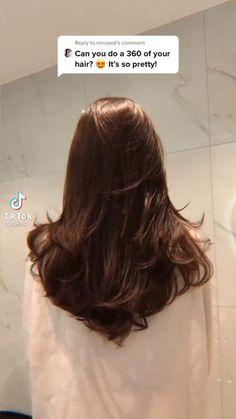 Haircuts Straight Hair, Layered Haircuts, Long Hair Cuts, Long Hair Styles, 90s Haircuts, Hair Tips Video, Brown Hair Looks, Blowout Hair, Brown Hair Balayage