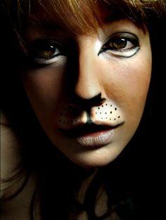 Makeup Animal Test, via Flickr.