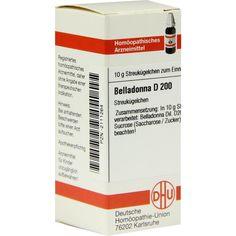 BELLADONNA D200 Globuli:   Packungsinhalt: 10 g Globuli PZN: 02111264 Hersteller: DHU-Arzneimittel GmbH & Co. KG Preis: 9,59 EUR inkl. 19…