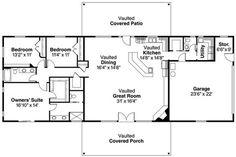 House Plans Rectangular