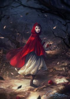 Little Red by Charlie-Bowater on DeviantArt