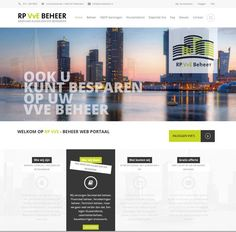 webdesign pagina voor RP VvE Beherer-rotterdam