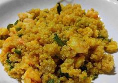 Quinoa with shrimp and zucchini WW, recipe of a tasty dish made with quinoa, shrimp and zucchini, flavored with curry, easy to make. Plats Quinoa, Quinoa Zucchini, Plats Weight Watchers, Weight Watchers Meals, Batch Cooking, Easy Cooking, Gourmet Recipes, Healthy Recipes, Shrimp Recipes