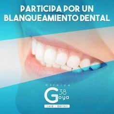 Gana un blanqueamiento dental con nuestros amigos de Clínica Goya 38.  Solo tienes que entrar en la cuenta de instagram @clinicagoya38 buscar esta imagen y seguir los pasos indicados.