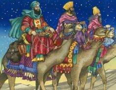 Spanish children celebrate the Epiphany on January also known as Three Kings' Day (aka, the Wise Men). Nativity Crafts, Christmas Nativity, Christmas Art, Nativity Creche, Nativity Sets, Christmas Paintings, We Three Kings, Kings Day, Saint Nicolas